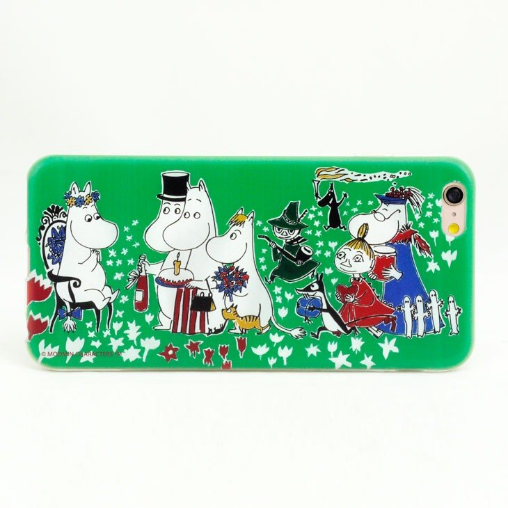 "Moomin Moomin genuine authority -TPU phone case: [Birthday Party] ""iPhone / Samsung / HTC / ASUS / Sony / LG / millet"""