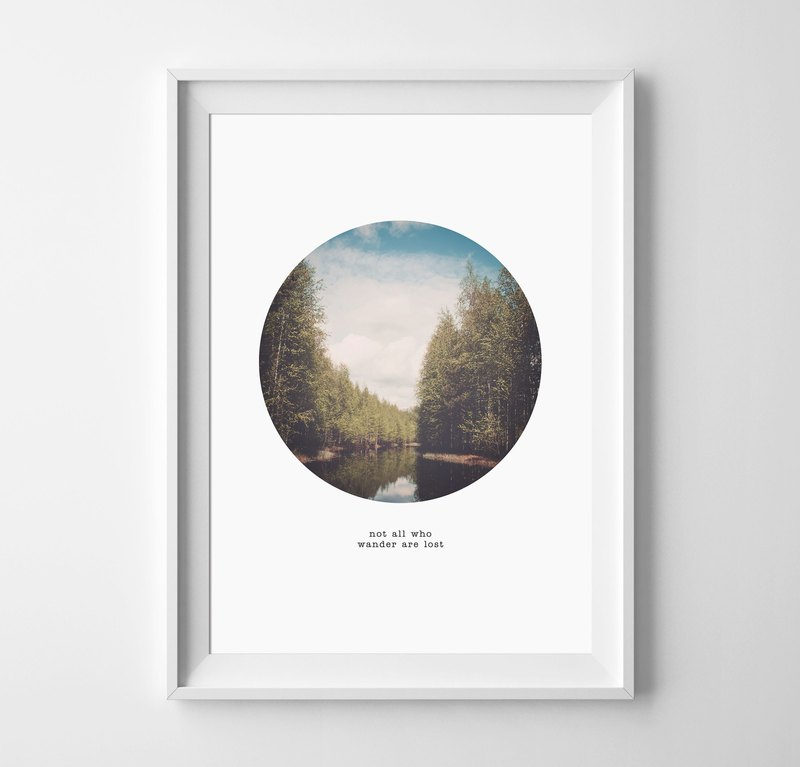 lost Customizable Hanging Poster
