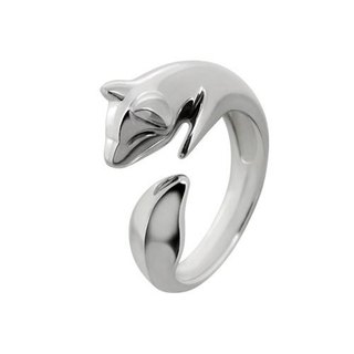Guardian - Silver Fox Ring - Small