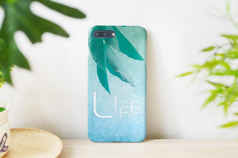 61-4 Life word iphone case for iphone 6,7,8, plus iphone xs, iphone xs max