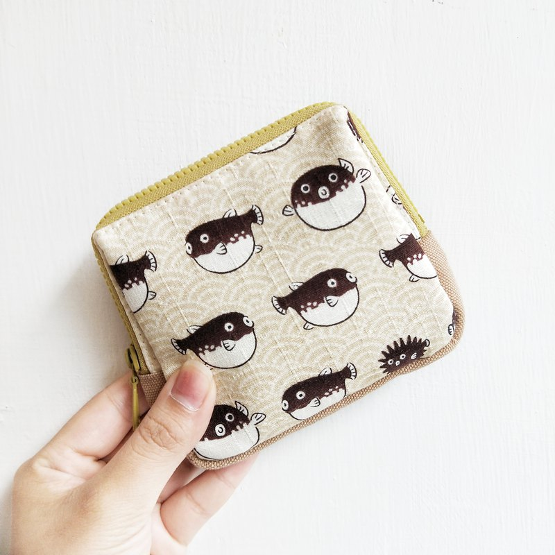 [Good day hand made] Handmade / puffer storage bag / universal bag