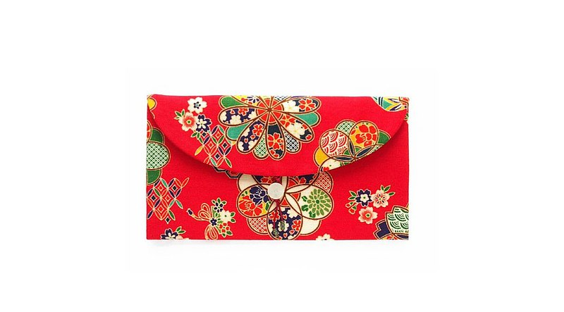 Fusion red envelope bag-Japanese style