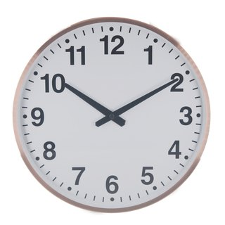 The age - Old Bronze Tasting Clock 9 Metal)