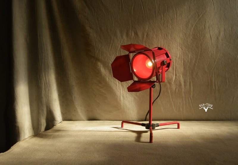 [Old Time OLD-TIME] Early Taiwanese photography projection lamp table lamp