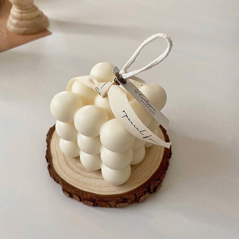 ins風韓式簡約幾何方形蠟燭 | 天然大豆香氛蠟燭
