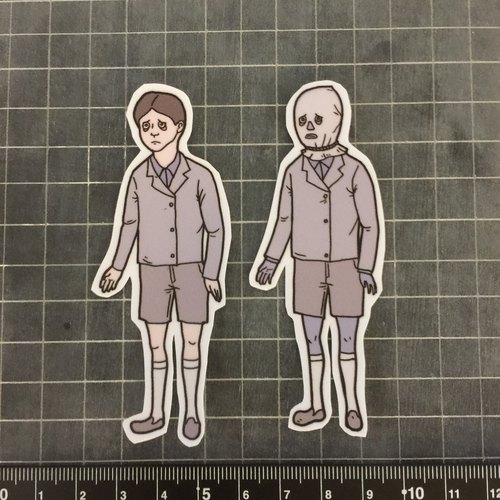 Sad boy Stickers