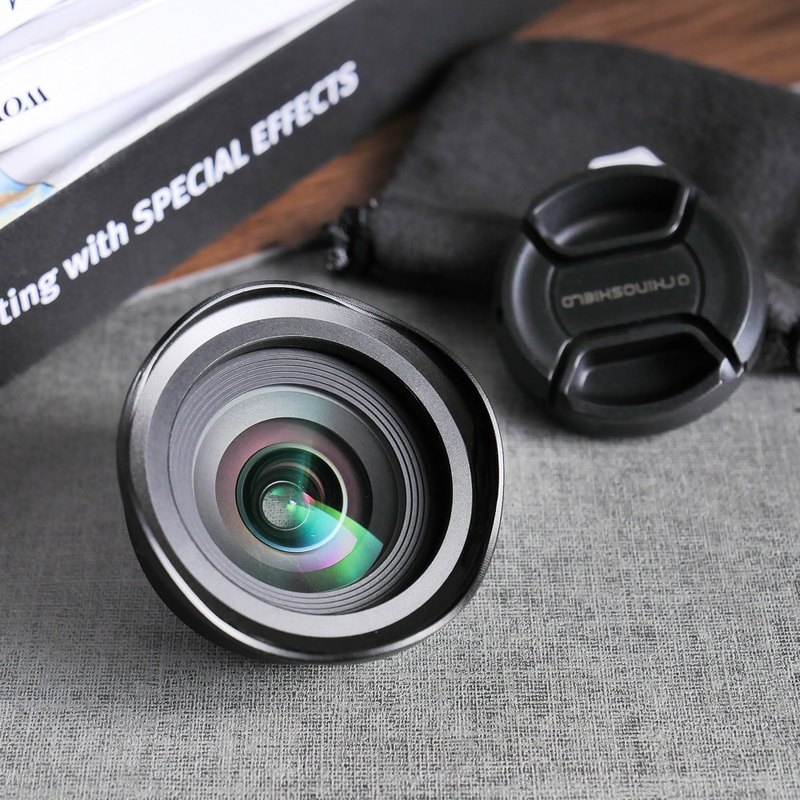 Mobile phone expansion lens - 0.6X high quality wide-angle lens