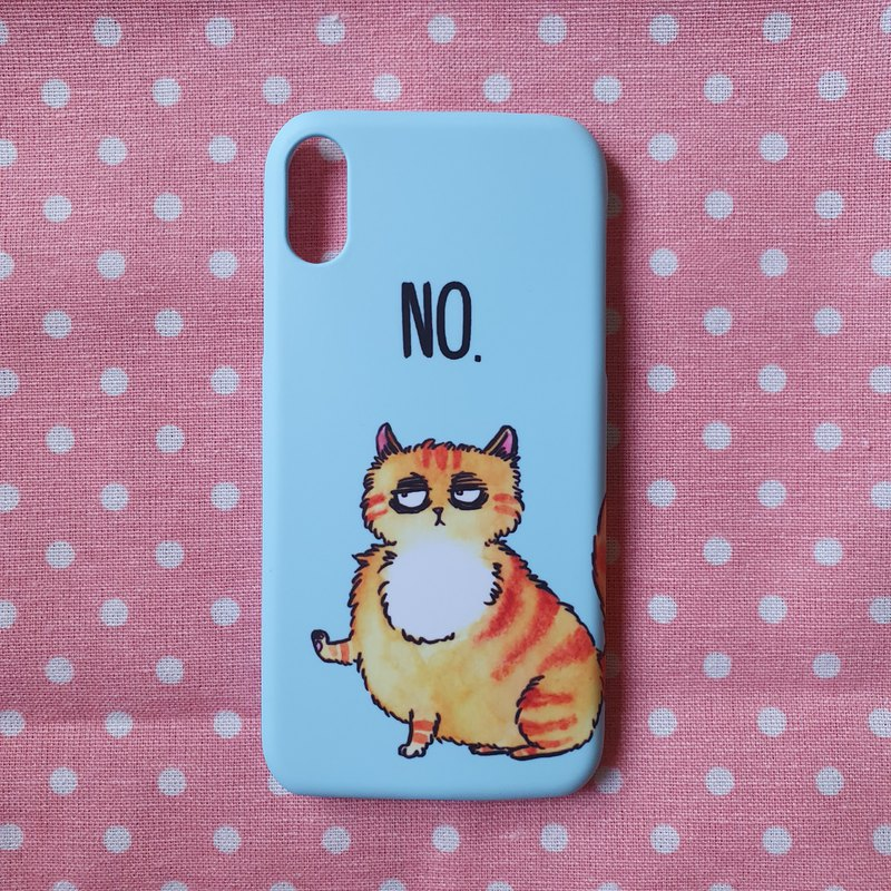 """NO"" iphone Casing"