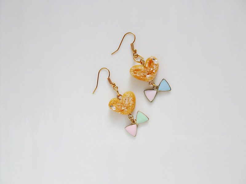 Japanese Clay Earrings The Ting Things with butterfly hanging earrings