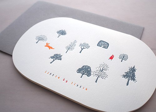 Point - typography card