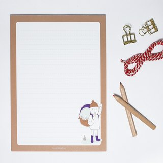 Let's Travel| Notebook / Letter paper