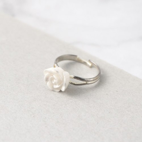 Marble pattern Rose Ring =Flower Piping=
