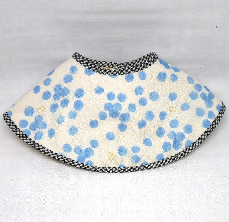 Japanese Handmade 8-layer-gauze 360 circle bib