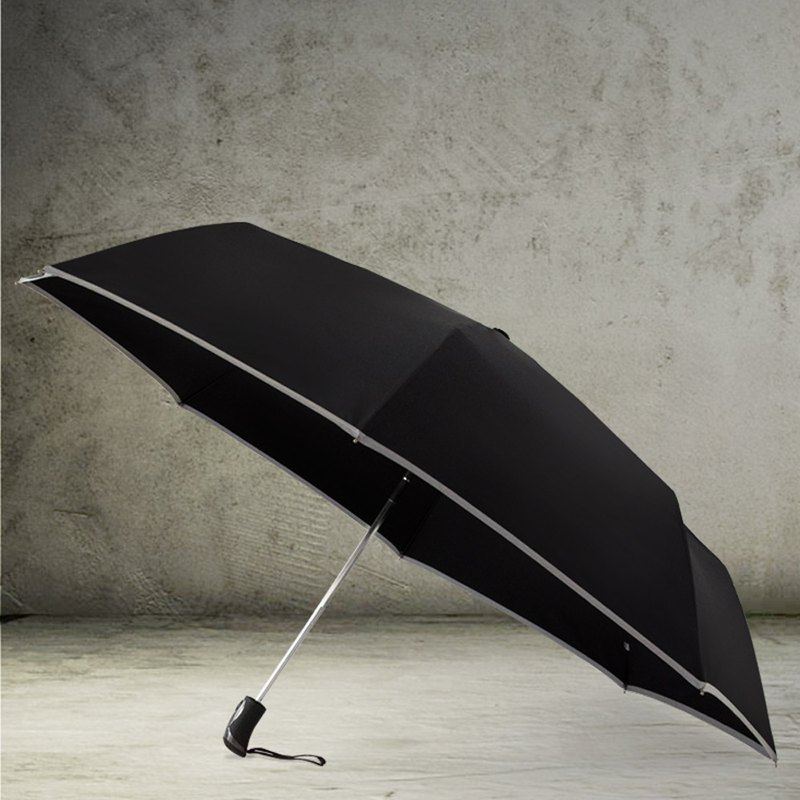 TDN anti-rebound 360 degree reflective strip super-water automatic opening umbrella (safety rod super large umbrella automatic umbrella)