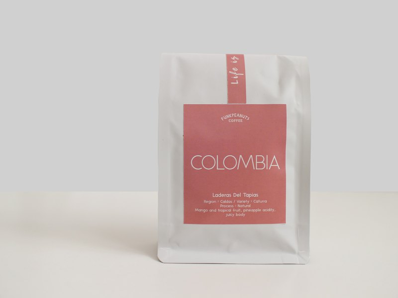 Colombian Sunshine Roasted Colombia Tapias 115g