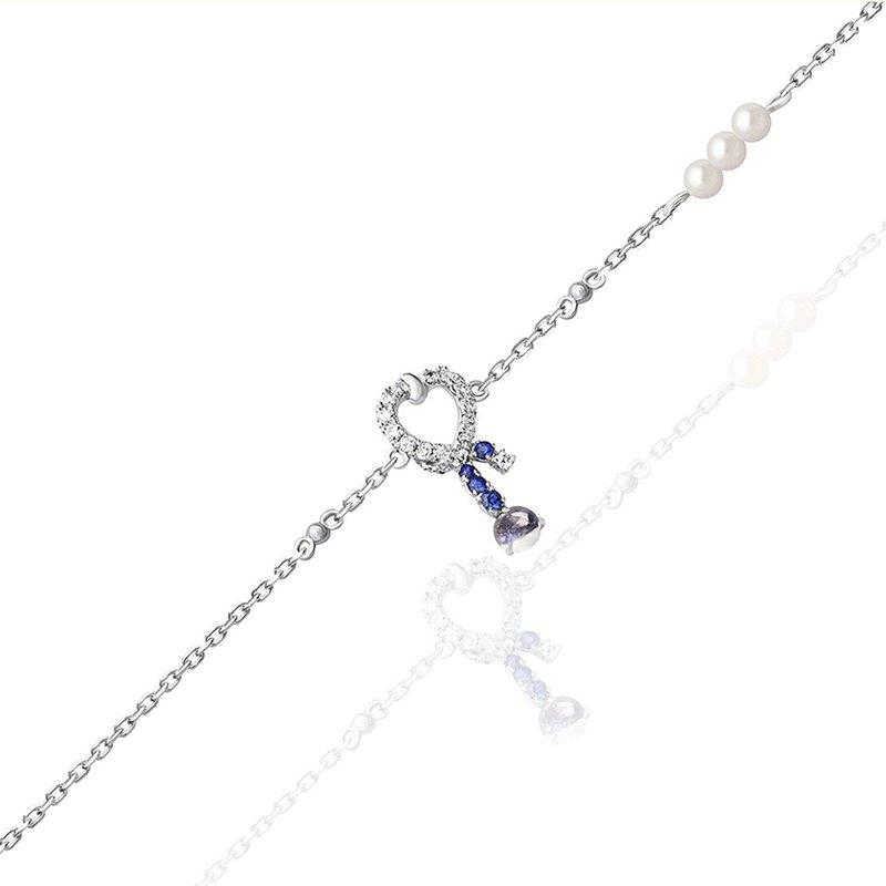 【brilliantia】10K藍星手鍊 - (HT0028)