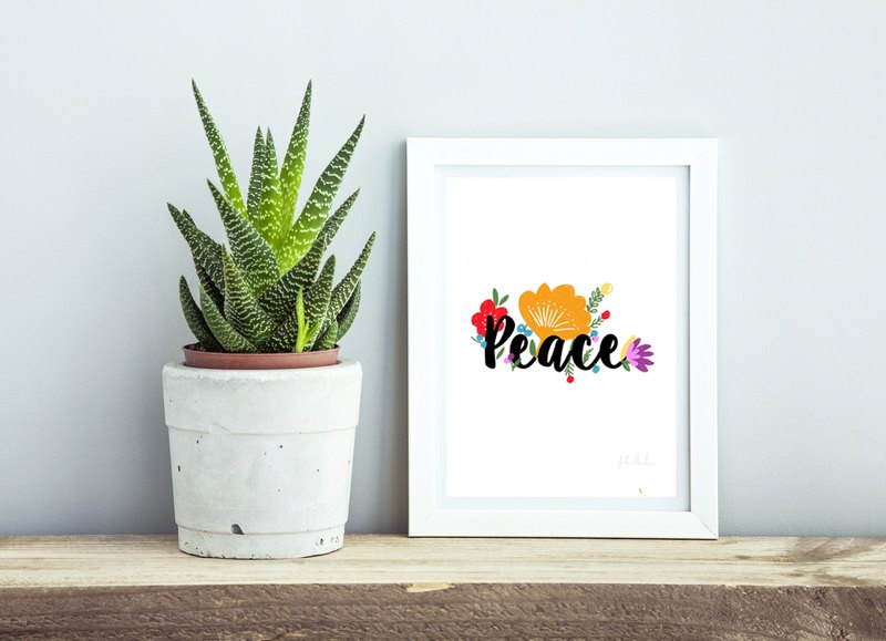Australia Suki McMaster original illustration - Peace