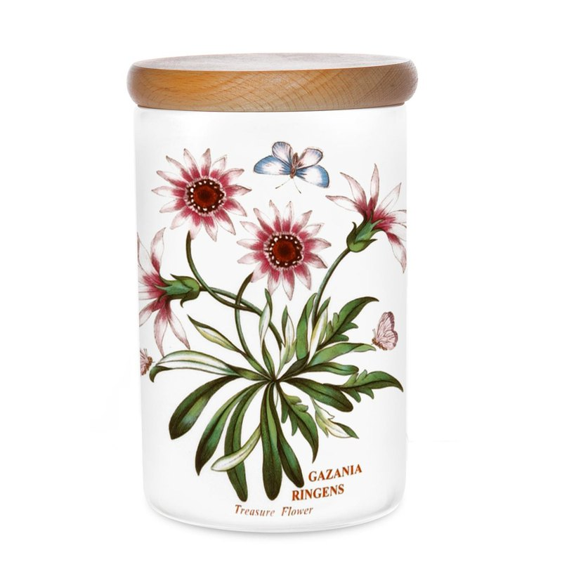 Portmeirion Botanic Garden Storage Jar 7 inch Treasure Flower