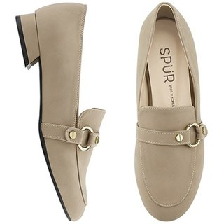 PRE-ORDER – SPUR Ring belt loafer MF7015 BEIGE
