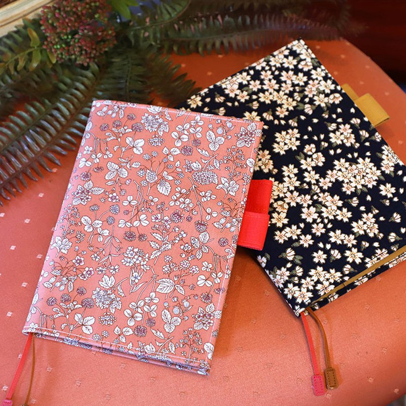 B6/32K flower cloth double pen insert book / book cover / book cover - official sale