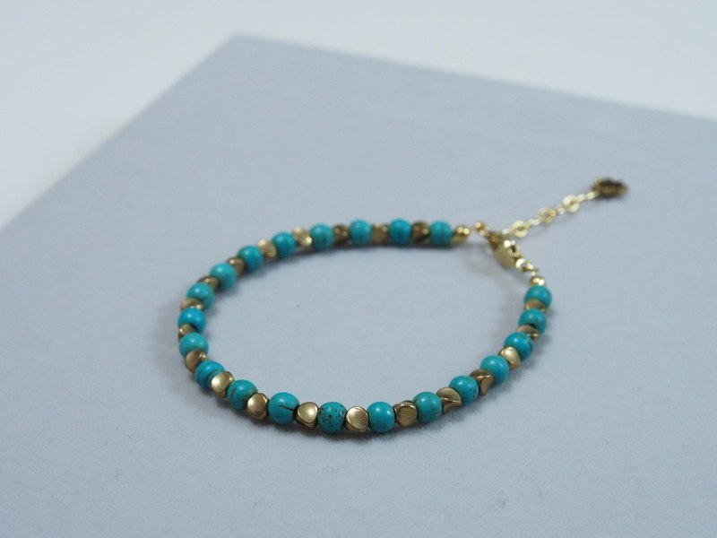 -- la-joie -- Exotic Peas + Turkish Stones // Natural Stone X Bracelets ///