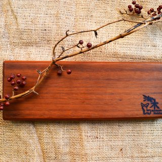 Rectangular chopping board │ wobble plate, light food │ walnut