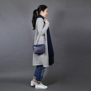 Passion small blue bag hand / shoulder / hatchback