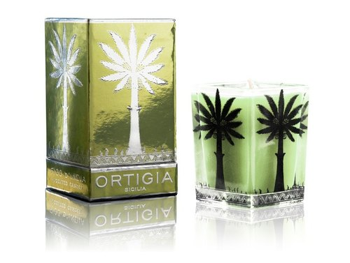 O媞gia Ortigia - Fico D'India - Indian Fig Scented Candle 160g (Woody Scent)