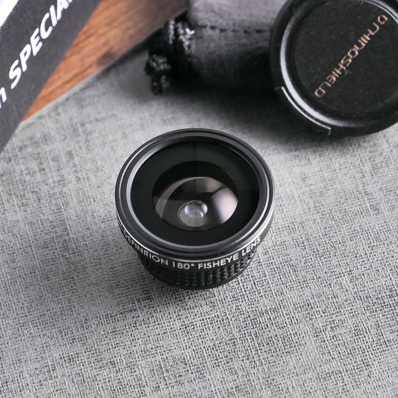 Dedicated camera lens - Fisheye lens