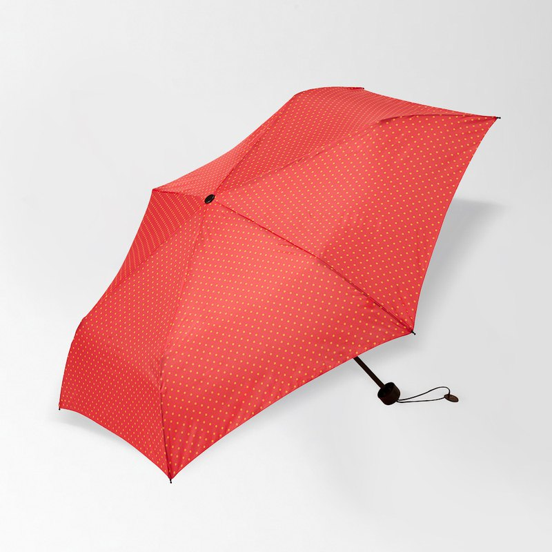 Japan BRUNO fiberglass portable folding umbrella (red)