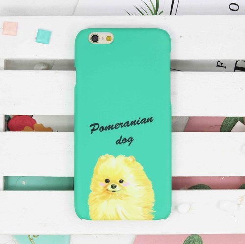 Smart Pomeranian Dog doggie matt finishes phone case for iPhone X 8 8 plus ip8
