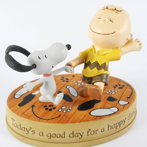 Snoopy Hand-Sculpture - Happy Dance [Hallmark-Peanuts Handicrafts]