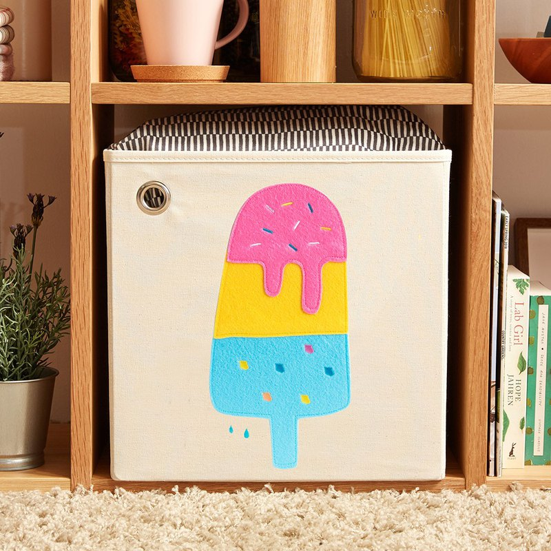 [2019 new color] berry soda popsicle - toy storage box
