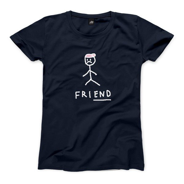 friEND - dark blue - Women's T-Shirt