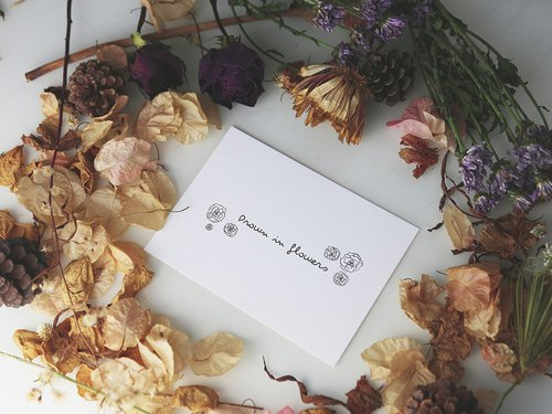Drown In Flowers Postcard G