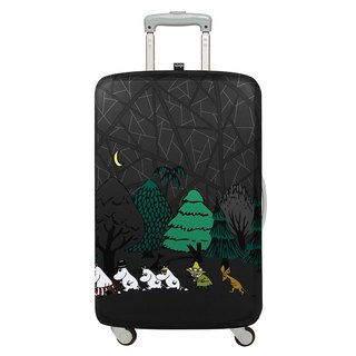 LOQI luggage jacket / Moomin forest [M]
