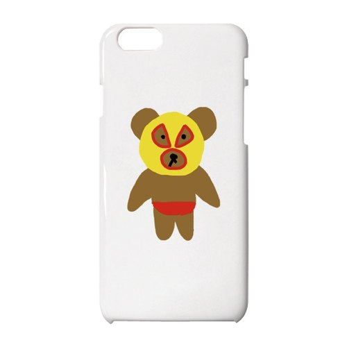 Wrestler Bear #1 iPhone保護殼
