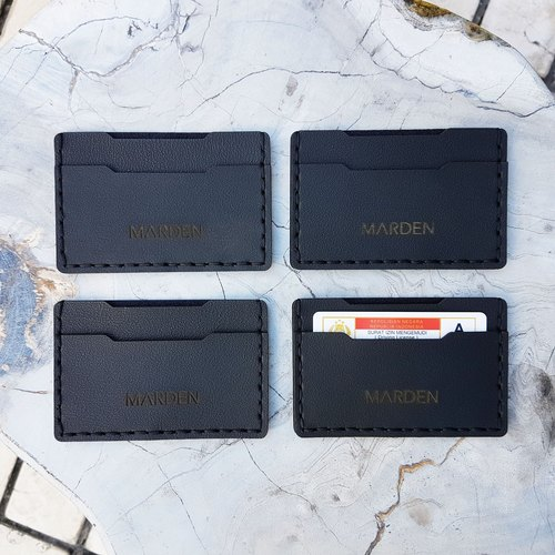 Callet Card Holder in Black