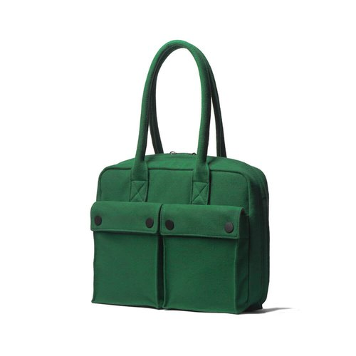 "PEPPER&SALT│POLO Brief 11"" With Terry Fleece (Forest Green)"
