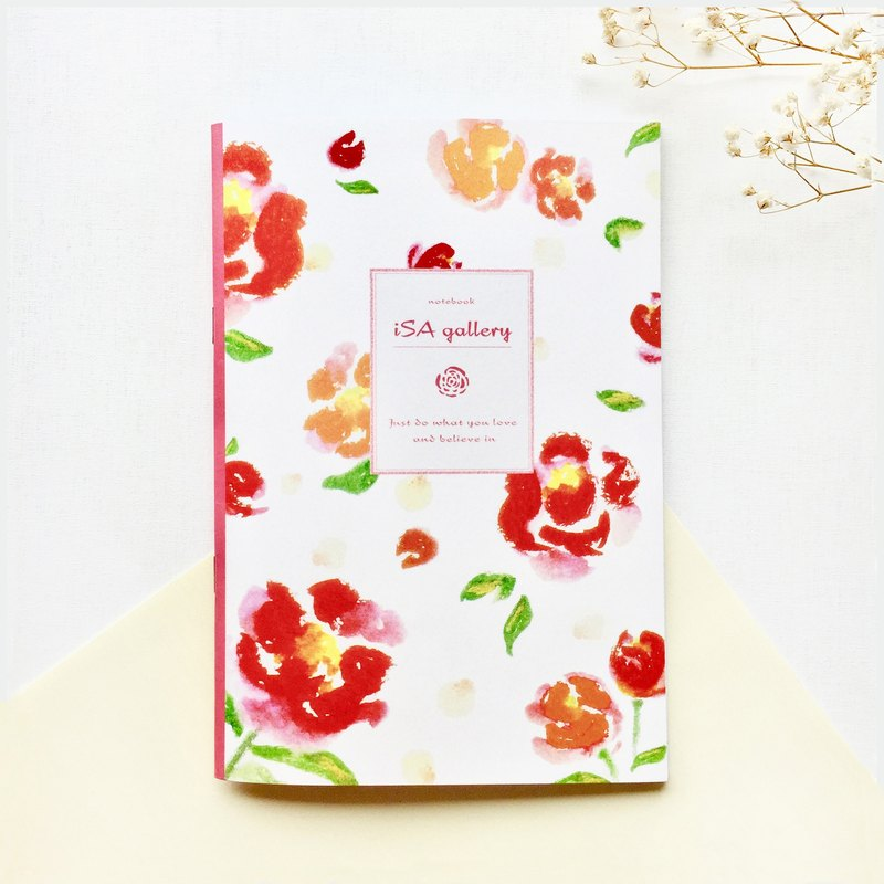 Rose blank / notebook