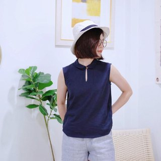 Hallow shirt : Navy