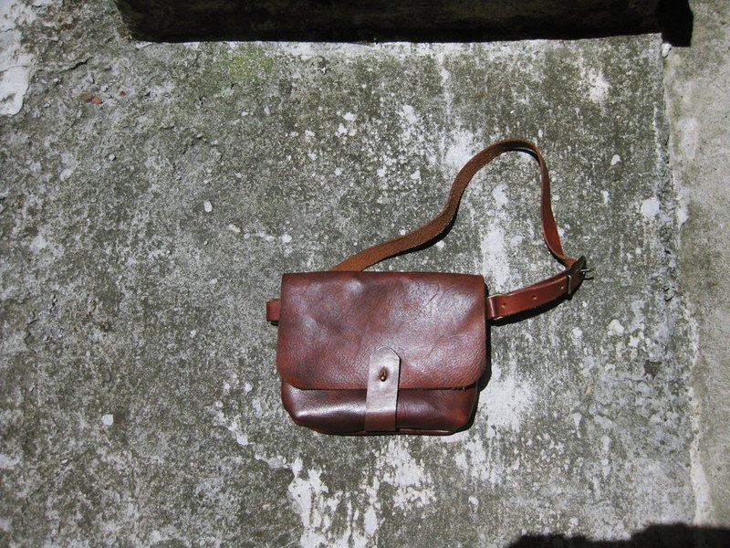 ~ After the garden ~ homemade accessories fell soft leather back pocket BC-321