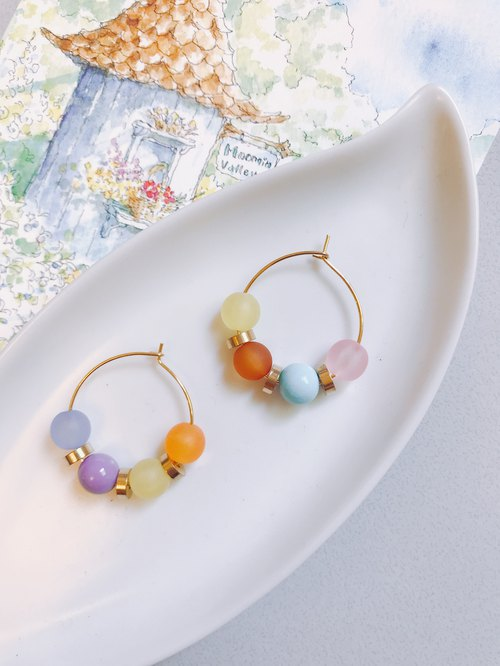 Spring Candy Style Earrings