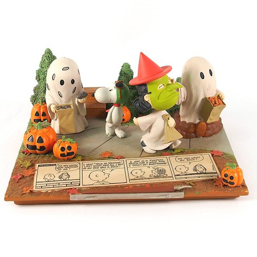 Snoopy Hand-Sculpture - 50th Anniversary of Halloween [Hallmark-Peanuts Handicrafts]