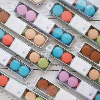 (Free gift packaging) Macaron shape wire holder