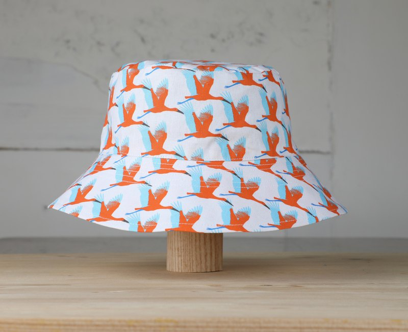 Fisherman's hat | stork to send the bird white | woopo