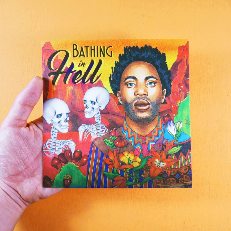 Movie Postcard-Bathing in Hell