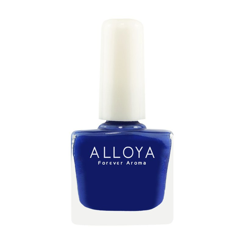 Water-based non-toxic finger color 031 fashion dark blue / durable + quick-drying