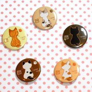 Badge ~ Meeks Kitty Back Shadow Badge Set