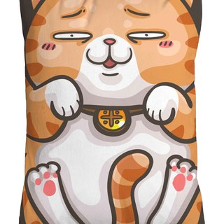 One god cat rice incense series pillow [Mixiang hug]